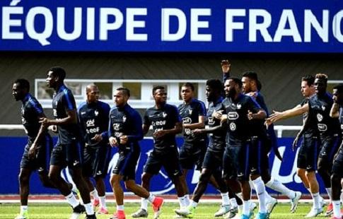 Погба Дембеле и Марсьяль- в стартовом составе Франции на матч с Россией