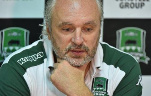«Краснодар» отправил тренера Шалимова вотставку