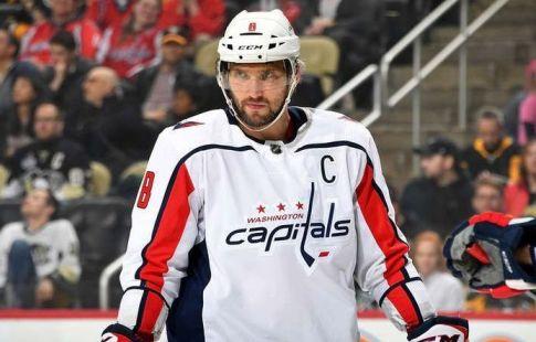 Овечкин впервый раз вистории НХЛ возглавил список снайперов клуба 13 сезонов подряд