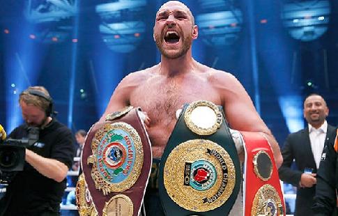 Боксер Фьюри проведет 1-ый бой после перерыва 9июня