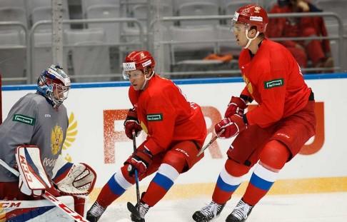 Всборную Российской Федерации вызваны 17 хоккеистов для подготовки кЧМ