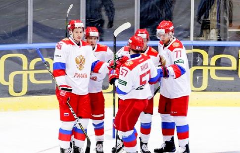 Воробьёв'Молодые хоккеисты сборной России смогли перебороть волнение в игре с норвежцами