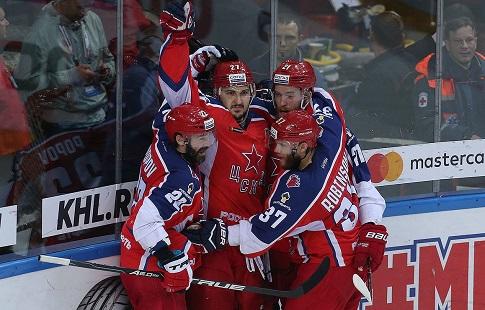 «АкБарс» одержал 3-ю победу над ЦСКА вфинале Кубка Гагарина