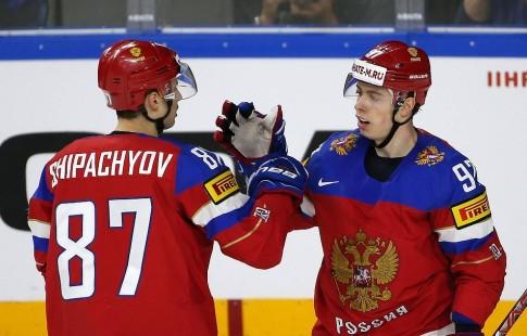 Сборная РФ похоккею обыграла команду Чехии сосчётом 4:2