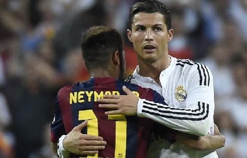 Нападающий «Реала» Криштиану Роналду посчитал невозможным переход Неймара вмадридский клуб