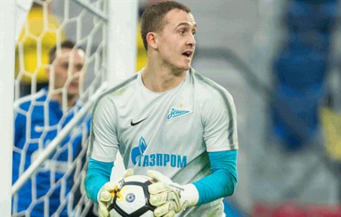 Вратарь «Зенита» Андрей Лунев вернулся ктренировкам вобщей группе