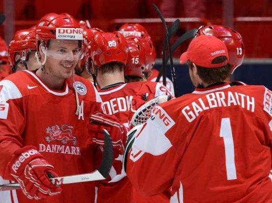 Дания одержала вторую победу подряд надомашнем ЧМ-2018, переиграв Норвегию