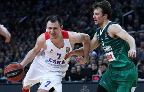 Баскетболисты ЦСКА проиграли «Жальгирису» вматче за 3-е место Евролиги