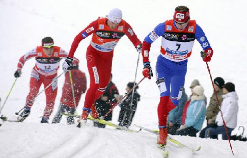 Лыжные гонки. Пеллегрино занял первое место в мужском спринте на КМ по лыжным гонкам в Конье