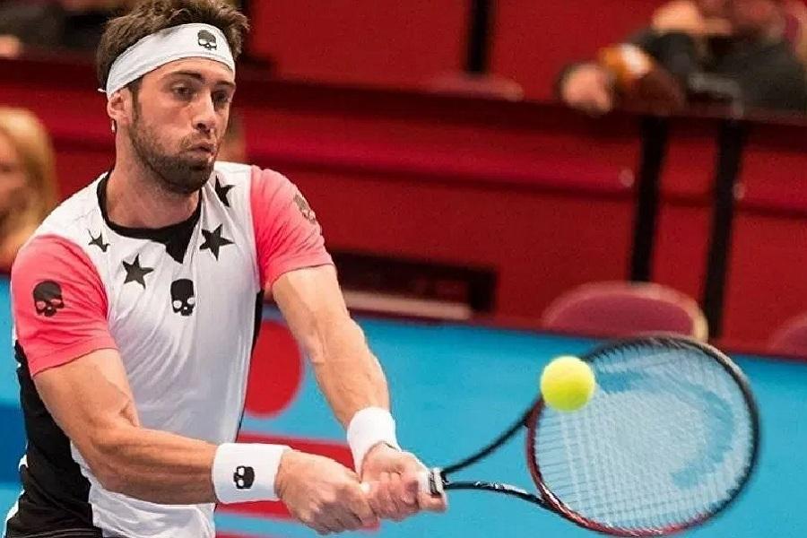 Грузинского теннисиста Басилашвили задержали за избиение экс-супруги