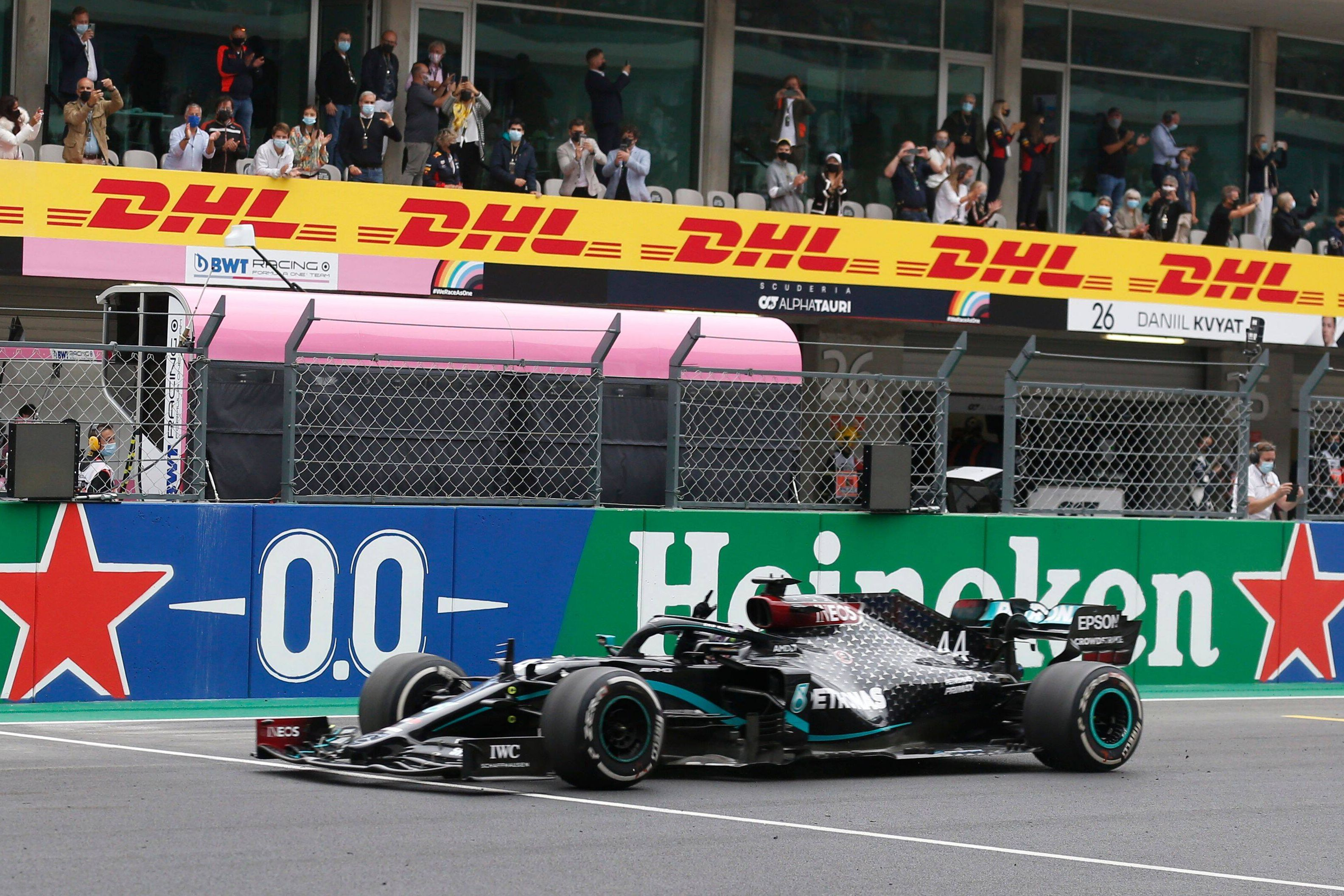 Формула-1. Гран-при Эмилии-Романьи. Квалификация. Прямая трансляция