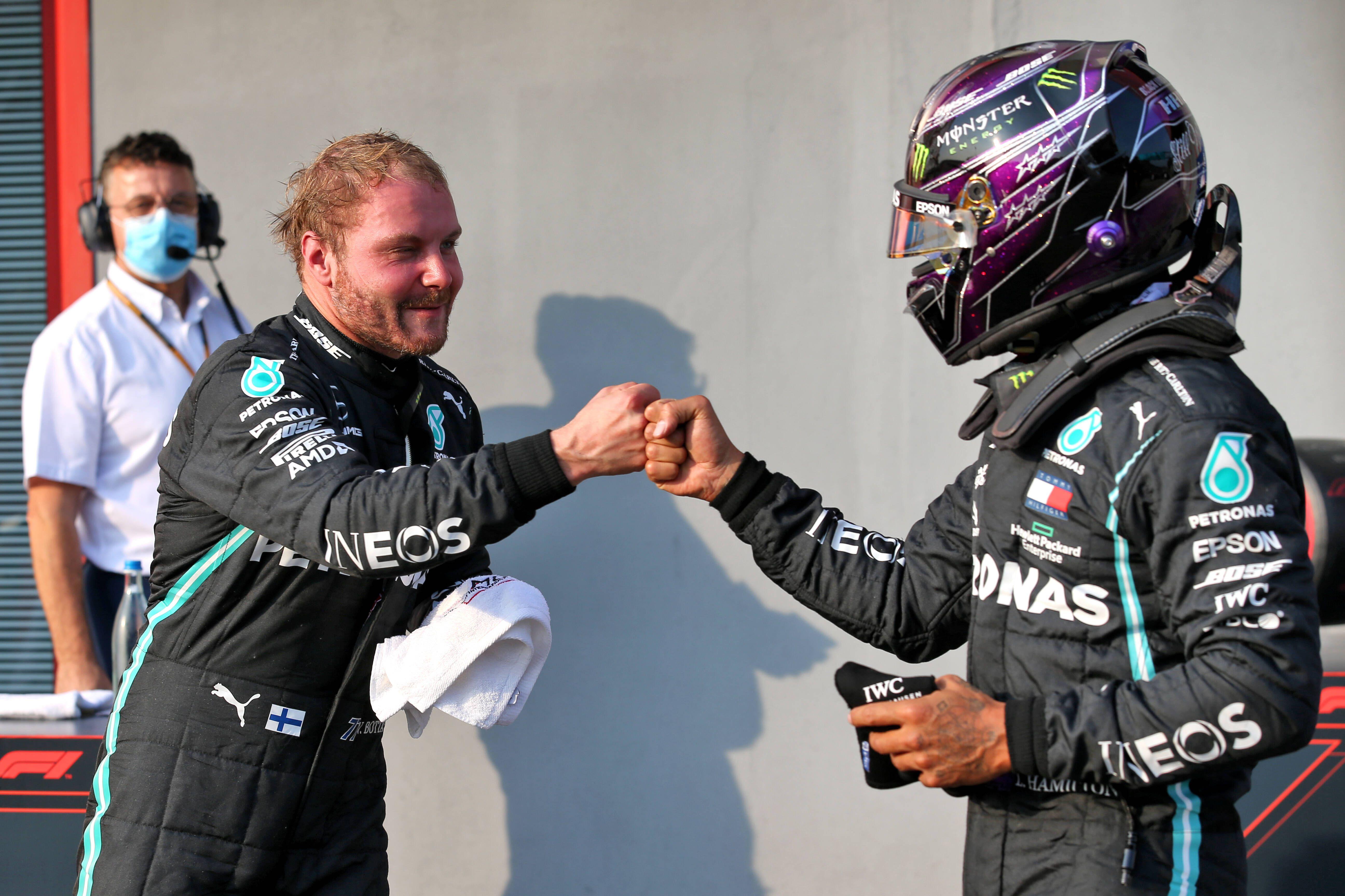 Боттас поделился эмоциями после победы в квалификации «Гран-при Эмилии-Романьи»