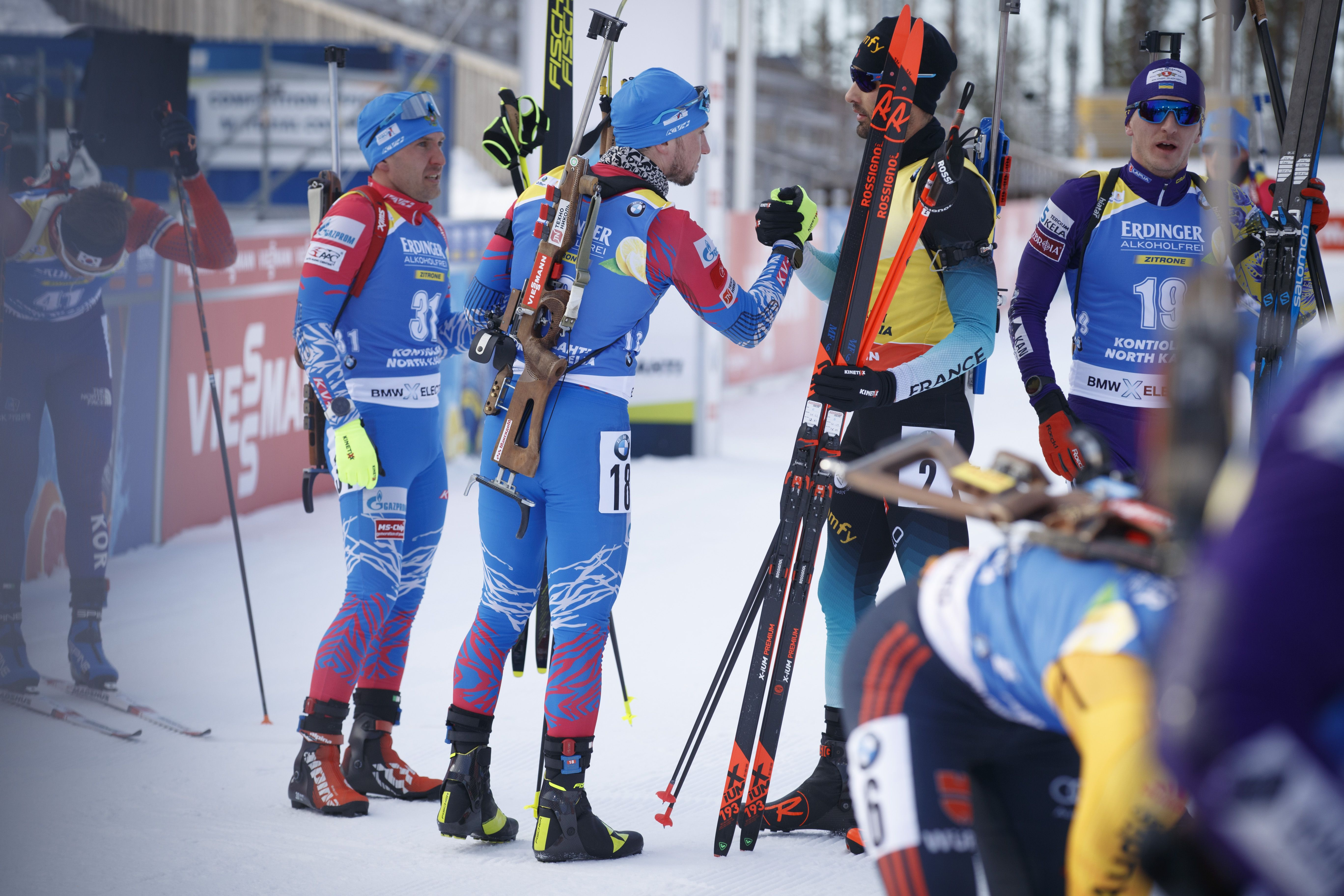 IBU подтвердил отсутствие заражённых биатлонистов в сборной России