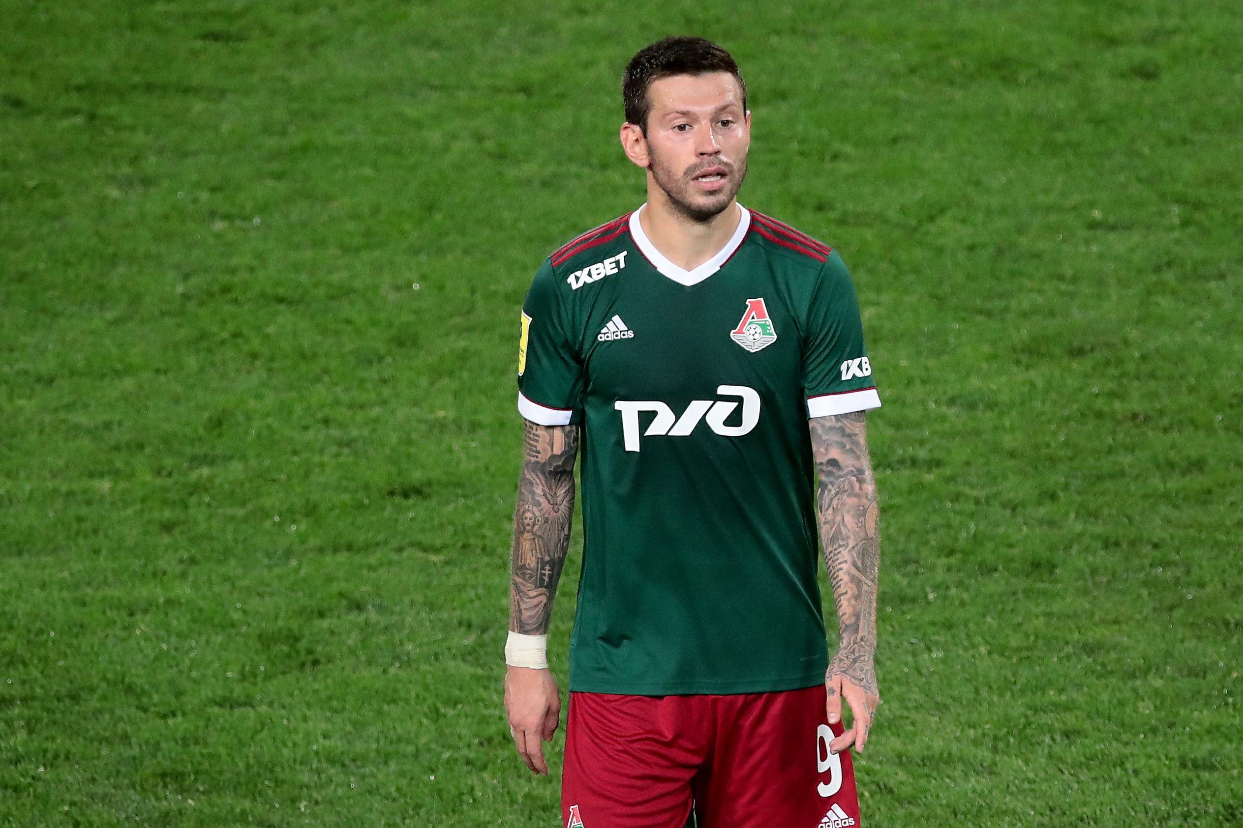 Смолов вернётся в общую группу Локомотива на первом сборе