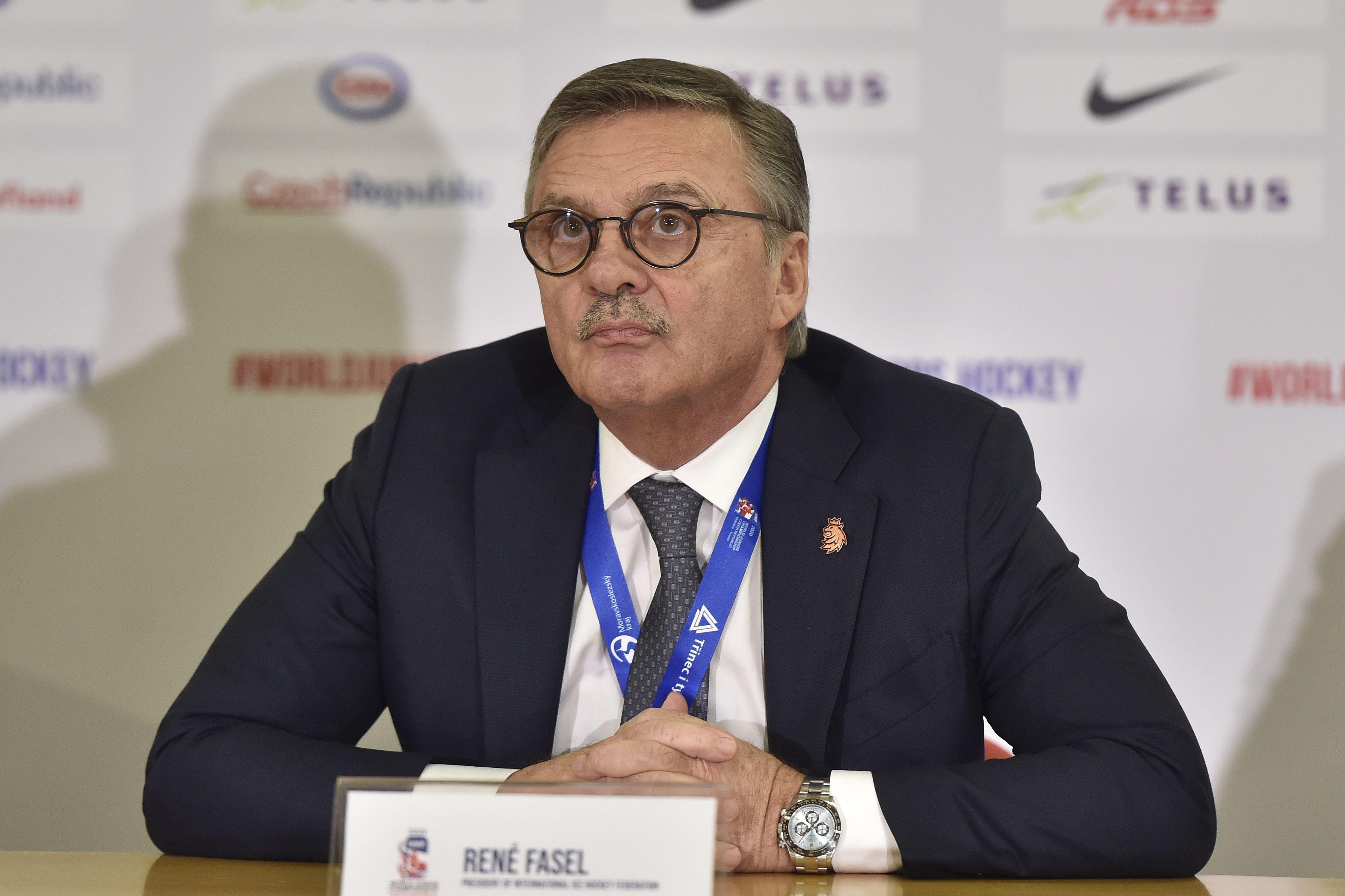 Фазель сообщил, что только чудо поможет Белоруссии принять чемпионат мира по хоккею в 2021 году