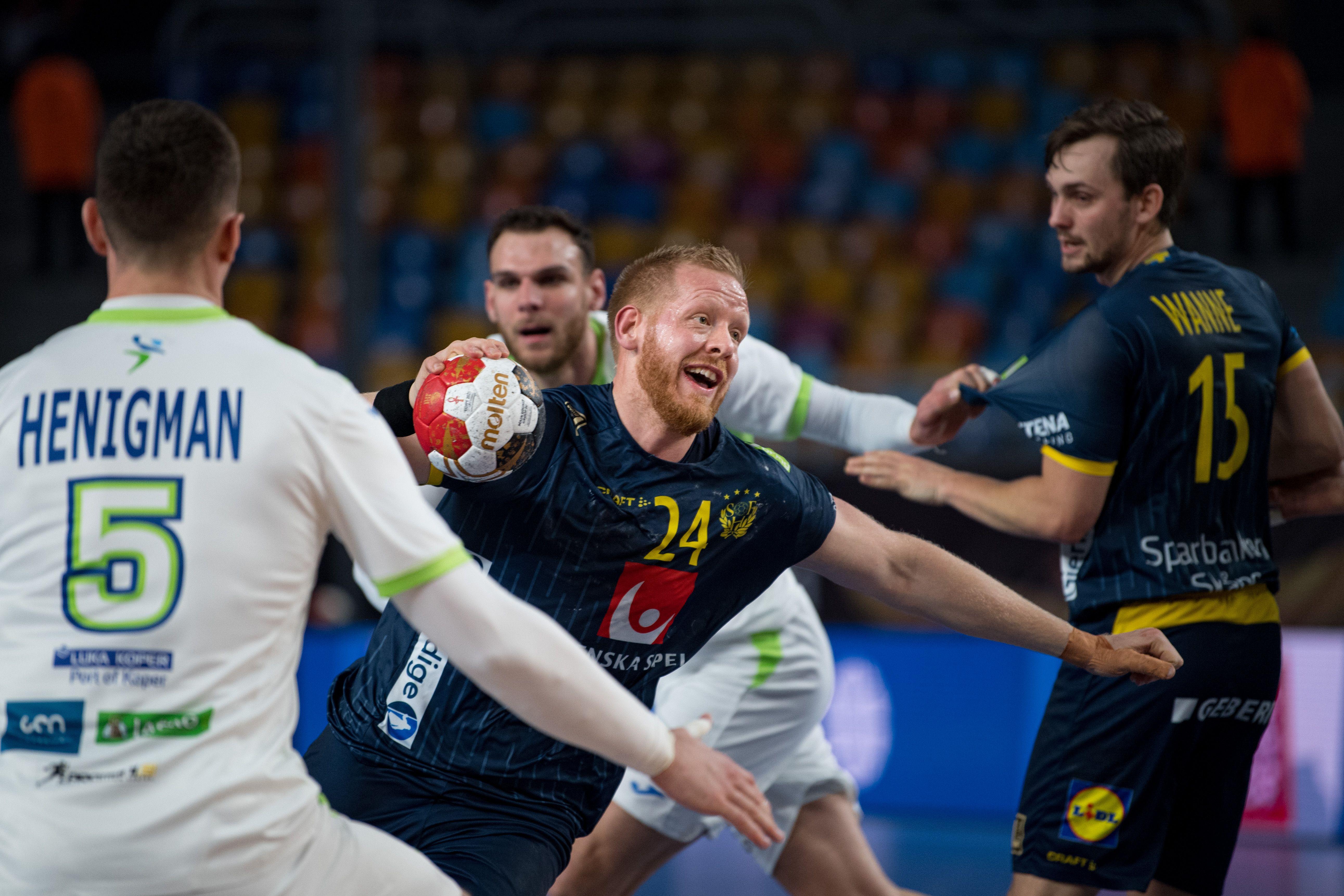 Соперники сборной России на чемпионате мира по гандболу Швеция и Словения сыграли вничью