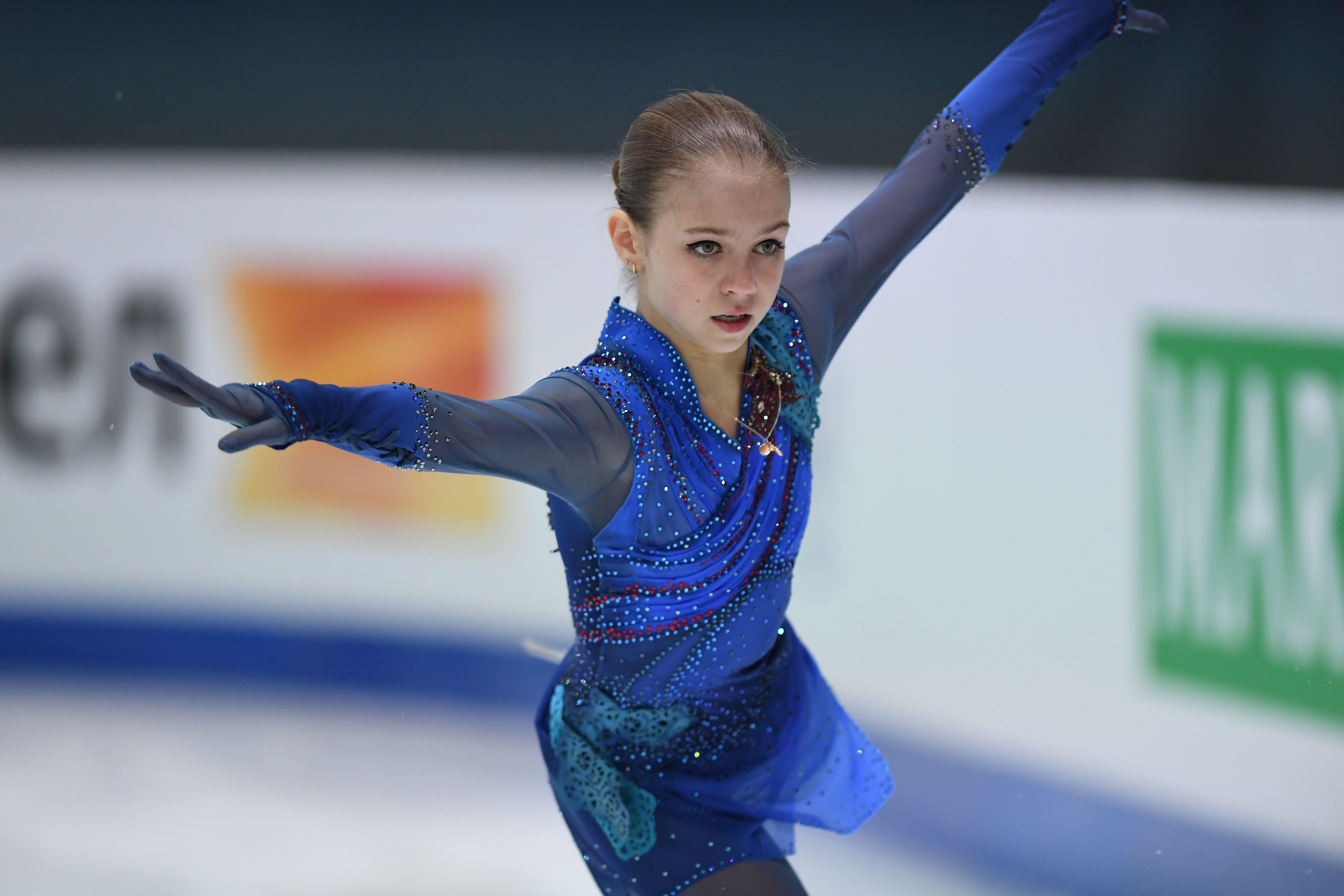 Прокат Трусовой в произвольной программе на Кубке первого канала. Видео