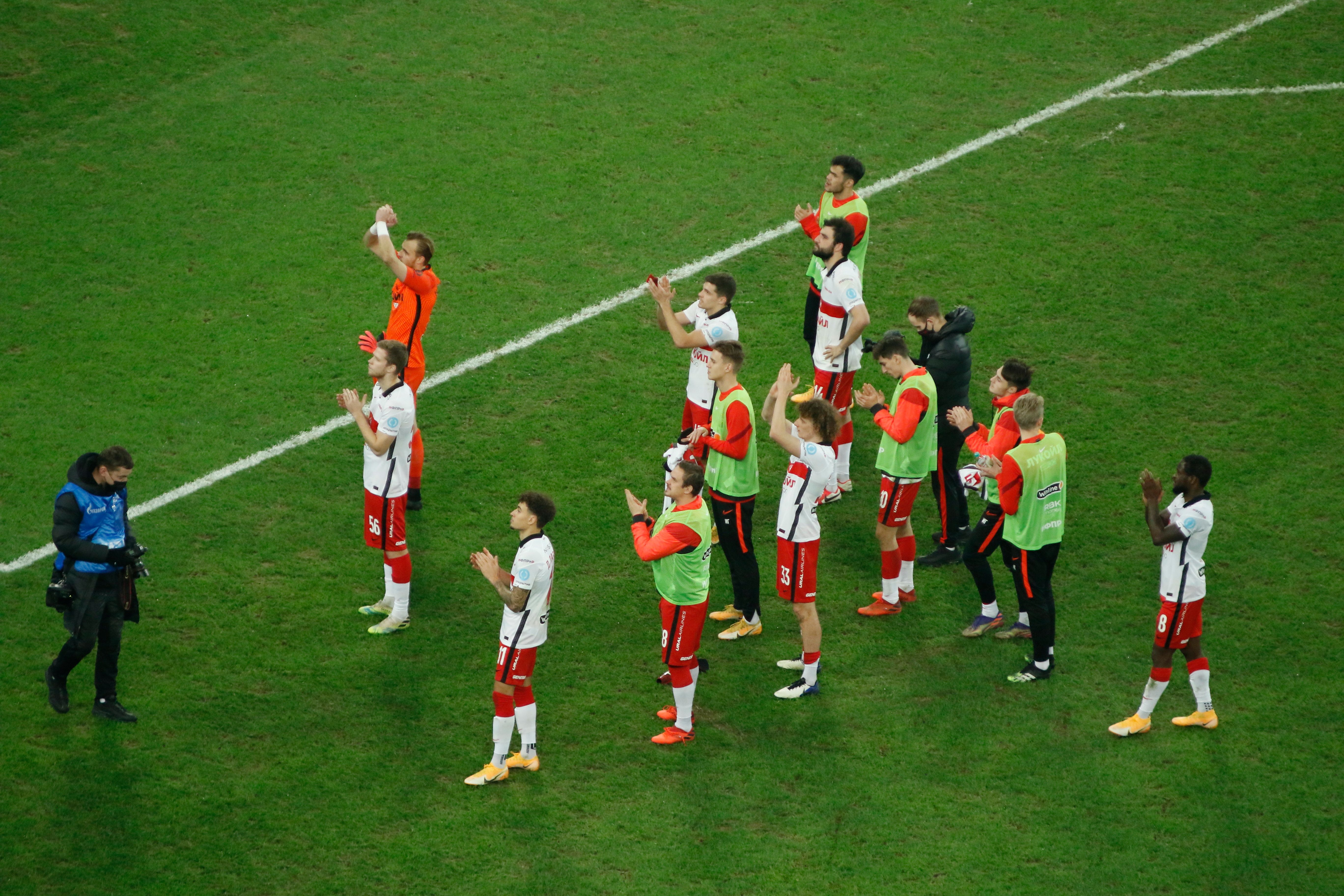 Спартак заявил Педро Рошу на оставшуюся часть сезона РПЛ
