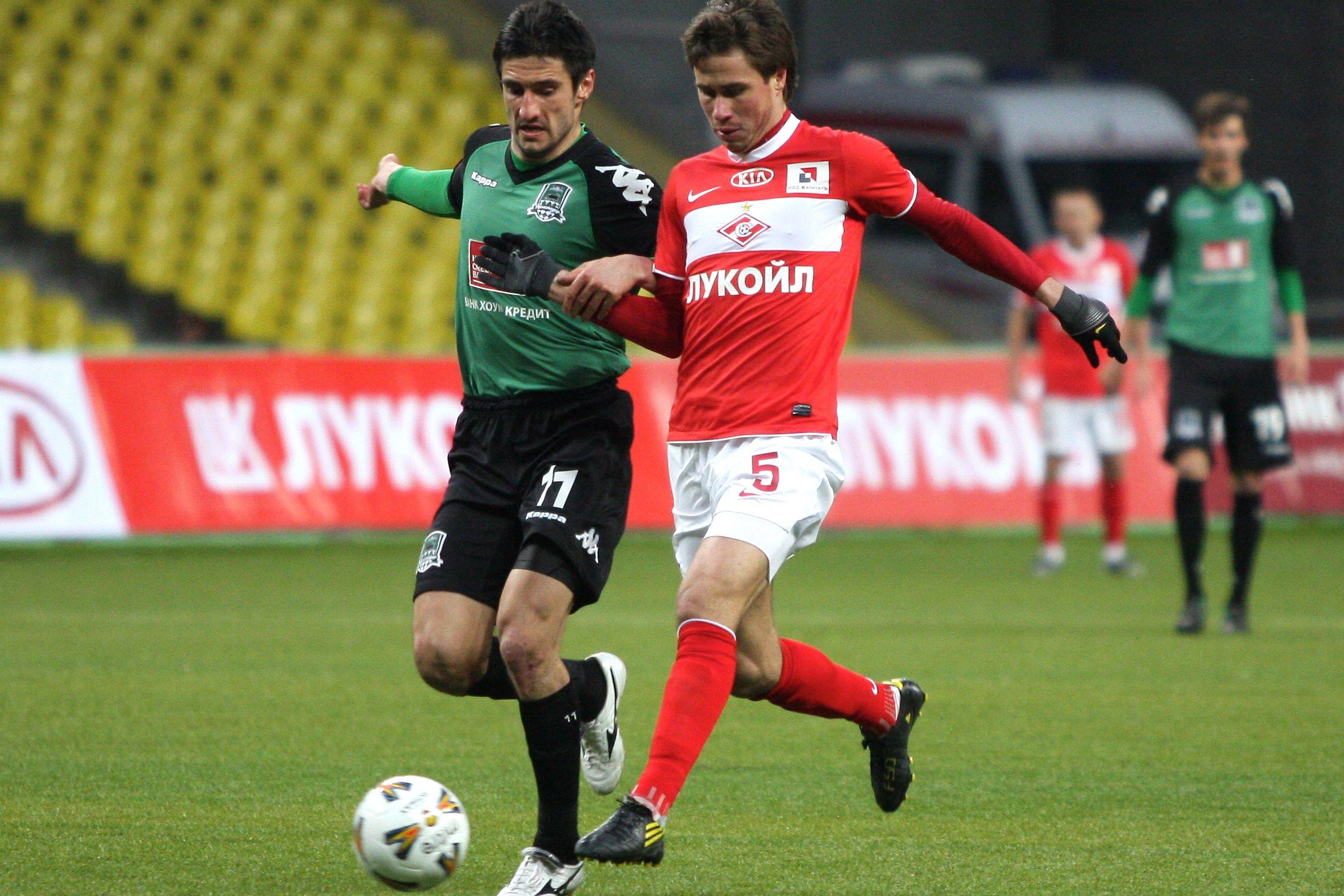 Тренеру Алании Гогниеву грозит до 2 лет дисквалификации за удар арбитра