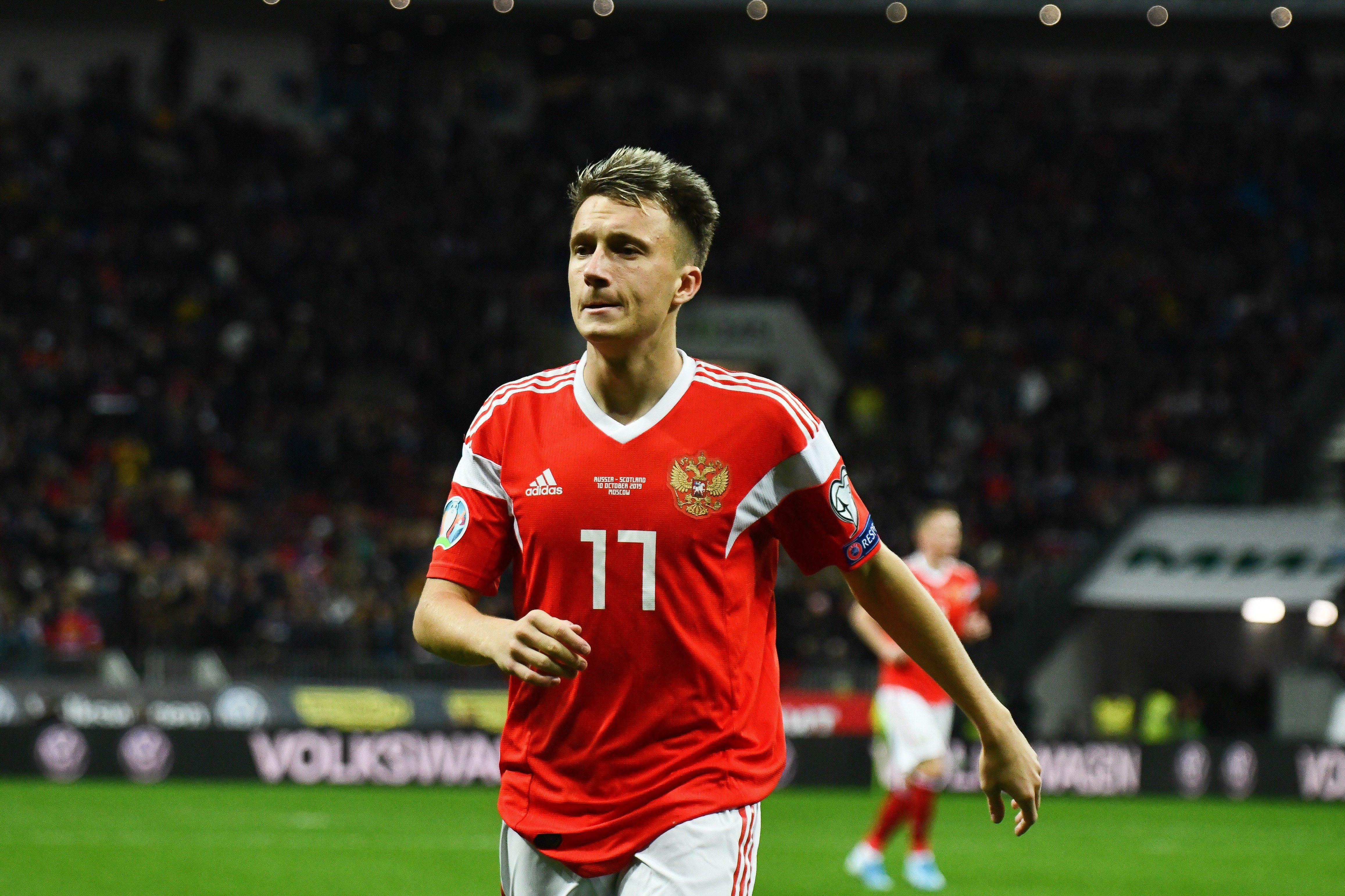 Головин присоединится к сборной в Сочи и сможет сыграть со Словенией