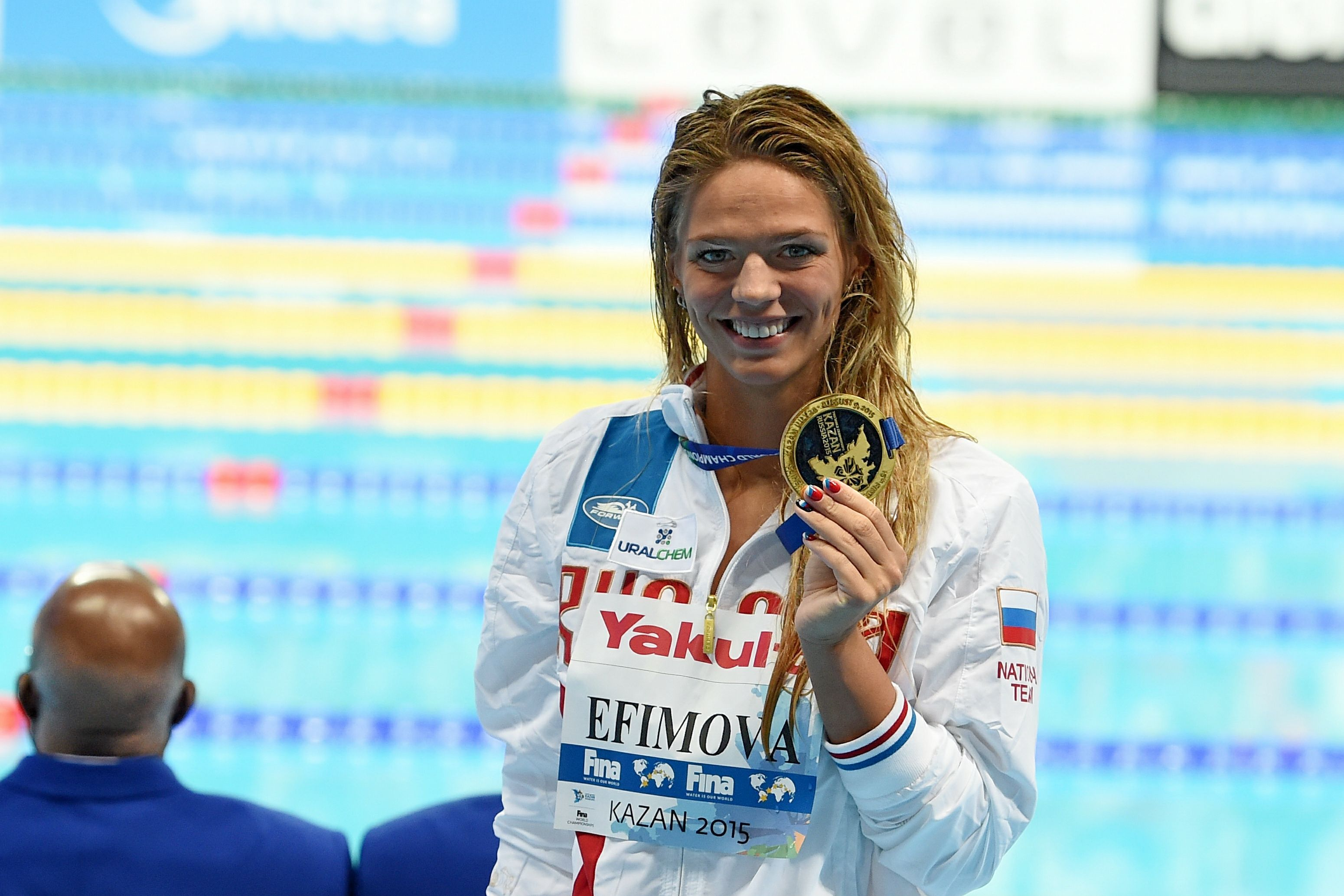 Ефимова заявила, что её подготовка к Олимпиаде может пройти в России