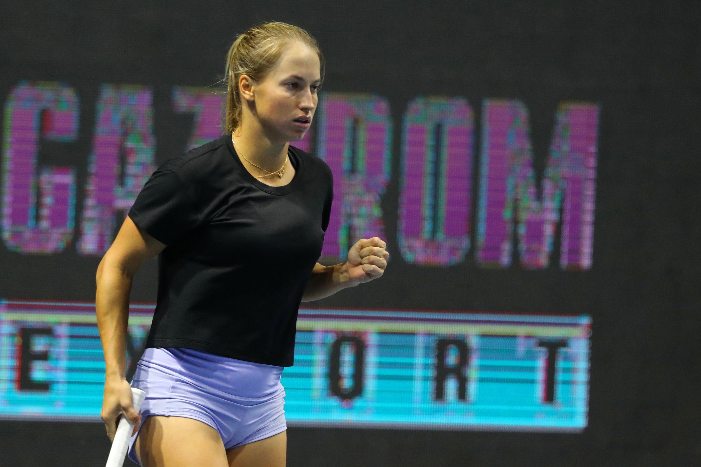 Путинцева не смогла пройти в полуфинал турнира в Чарльстоне