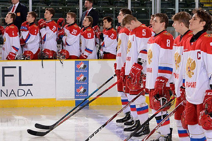 Эмоции юниорской сборной России после победы над американцами. Видео