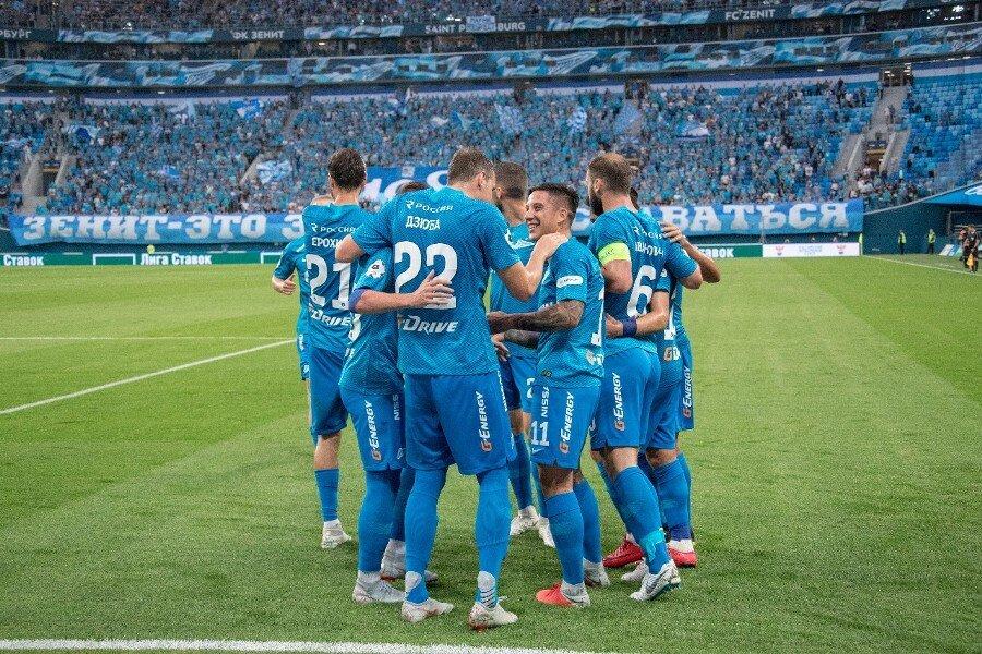 Как Зенит разнёс Локомотив и стал чемпионом России - 6:1: все голы матча. ВИДЕО