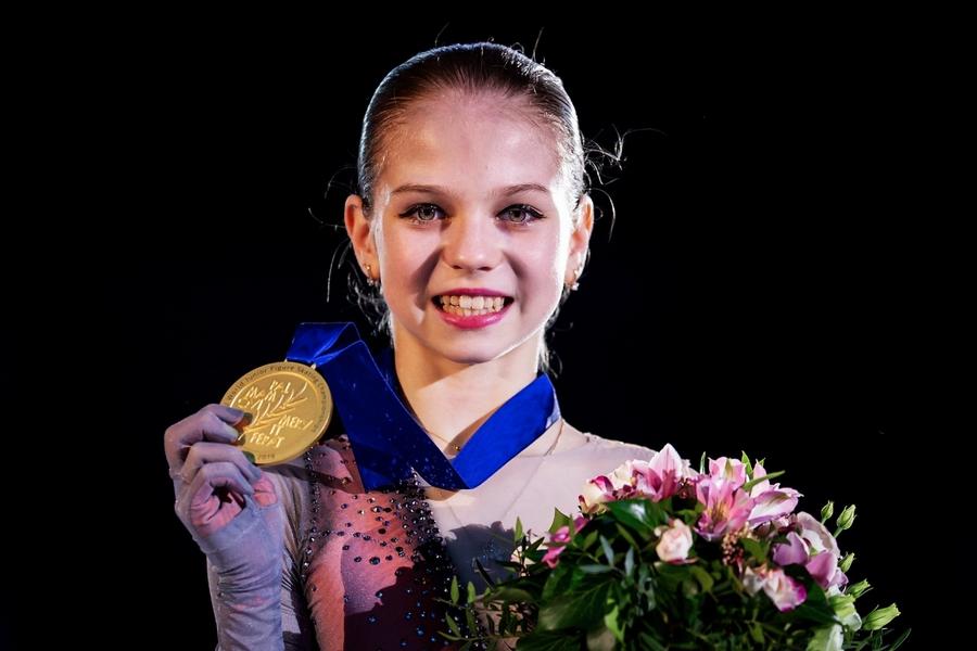 Чемпионка Литвы Ивановайте: Трусова  моя любимая фигуристка