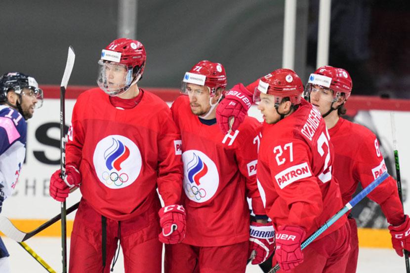 Победа России над Данией в видеообзоре матча ЧМ-2021