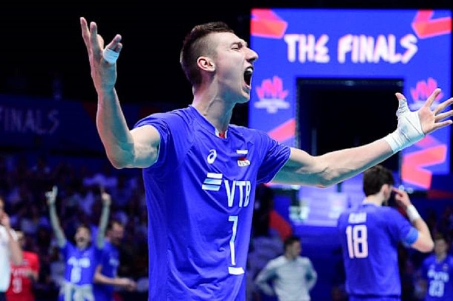 Капитан сборной РФ по волейболу Кобзарь - о победе над Ираном: Мы не пытались сделать сюрприз Алекно