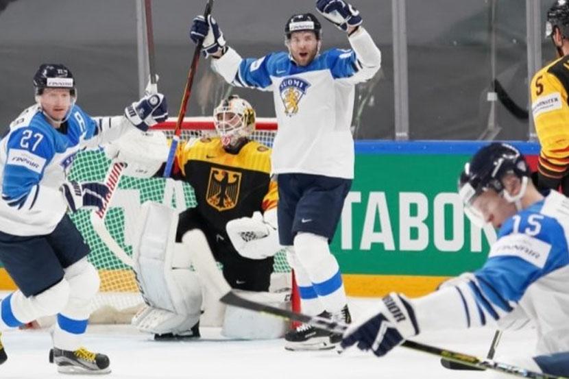 Прогноз Лебедева на полуфинальный матч ЧМ-2021 Финляндия  Германия