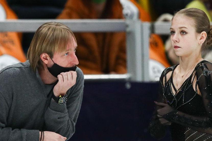 Плющенко: Считаю, что именно Трусова выиграла чемпионат России. В этом меня никто не переубедит