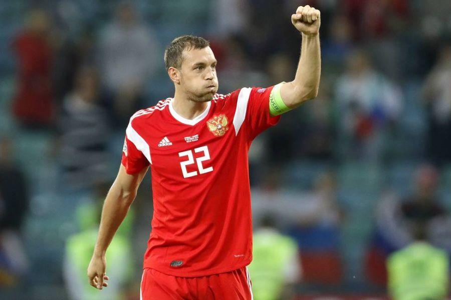 Дзюба одним словом охарактеризовал позорную игру России в матче с Данией