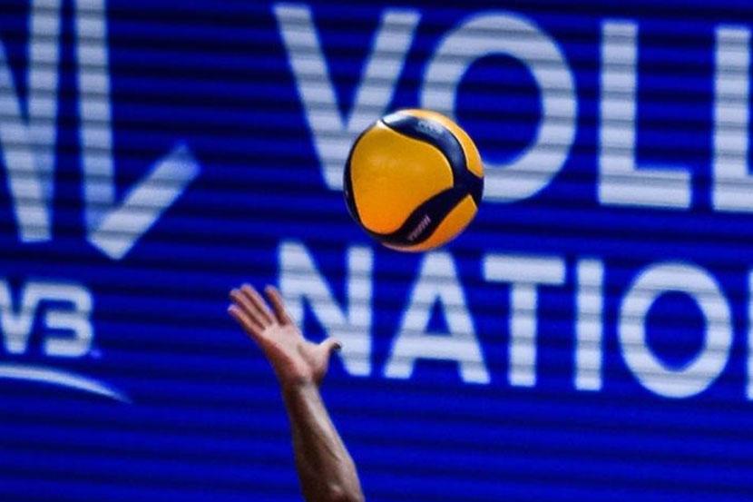 Сборная Бразилии по волейболу переиграла команду Франции и вышла в финал Лиги наций