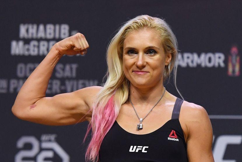 Куницкая показала разбитое лицо после нокаута от Альданы на UFC 264