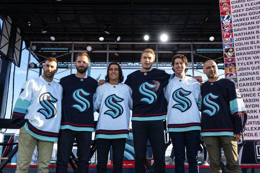 Сиэтл отказался от россиян на драфте расширения НХЛ