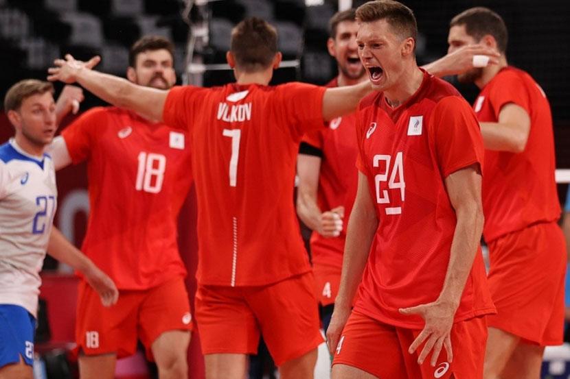 Сборная России по волейболу переиграла команду США на Олимпийских играх в Токио