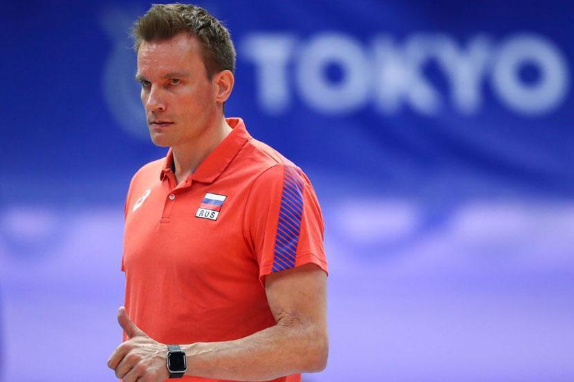 Тренер волейбольной сборной России прокомментировал победу над бразильцами и выход в финал Олимпиады