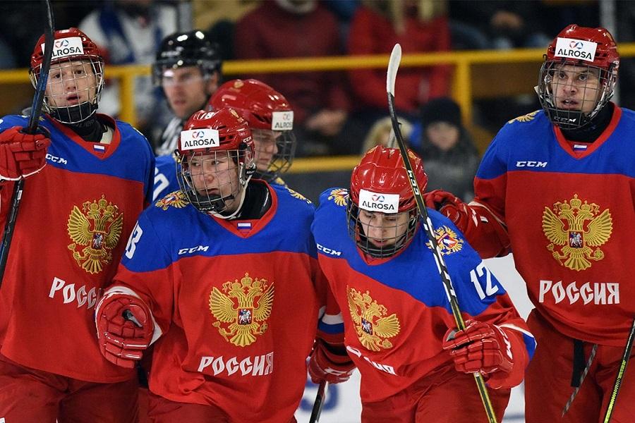 Сборная России по хоккею U18 в финале Кубка Глинки/Гретцки сыграет со Словакией