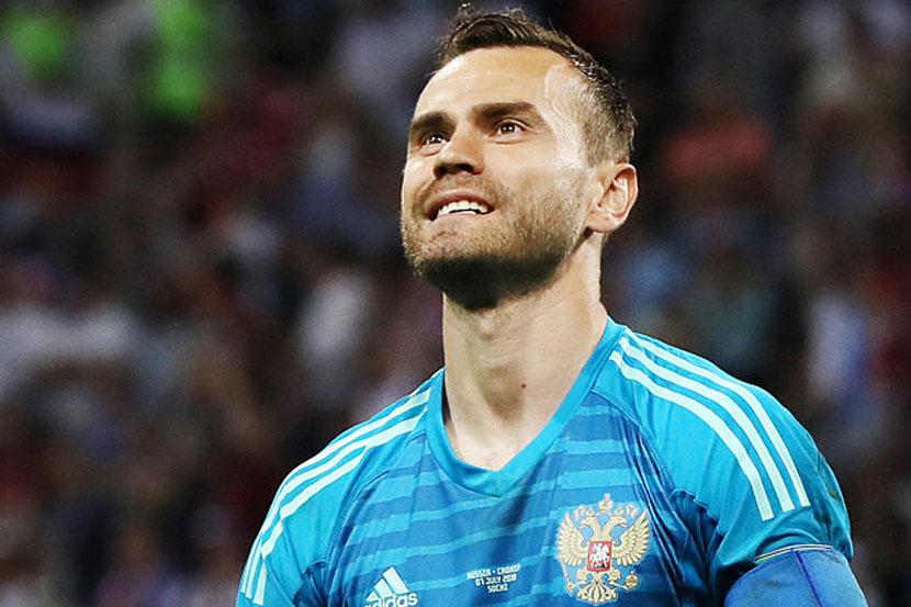 Акинфеев занял первое место в рейтинге самых преданных футболистов Европы