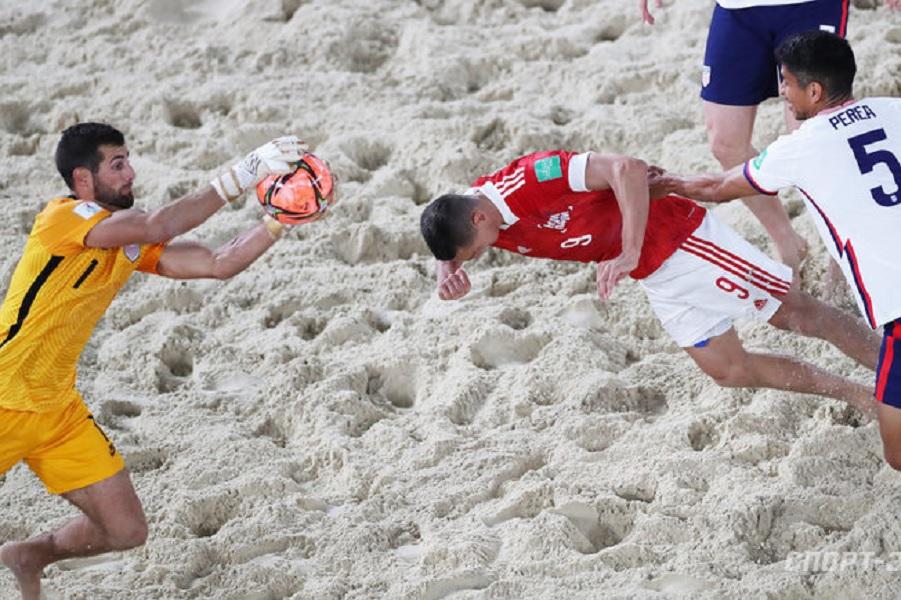 Капитан сборной США по пляжному футболу высказался о матче чемпионата мира со сборной России
