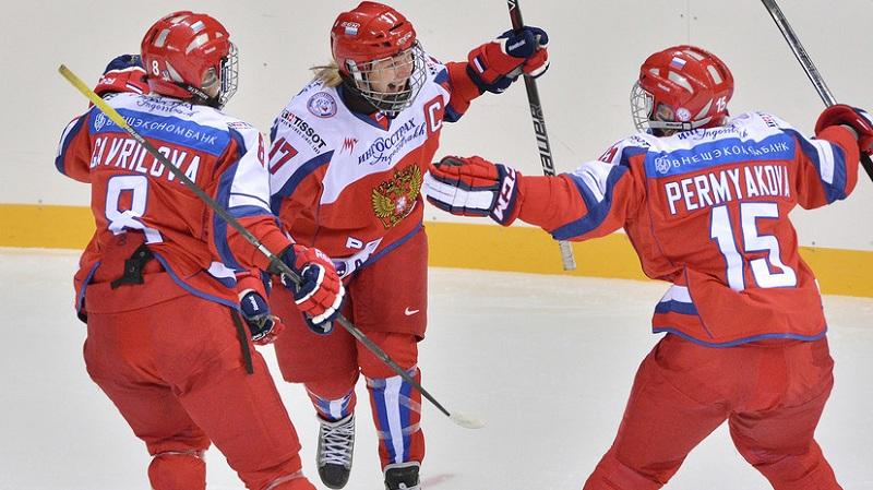 Женская сборная России по хоккею проиграла с крупным счётом США на чемпионате мира