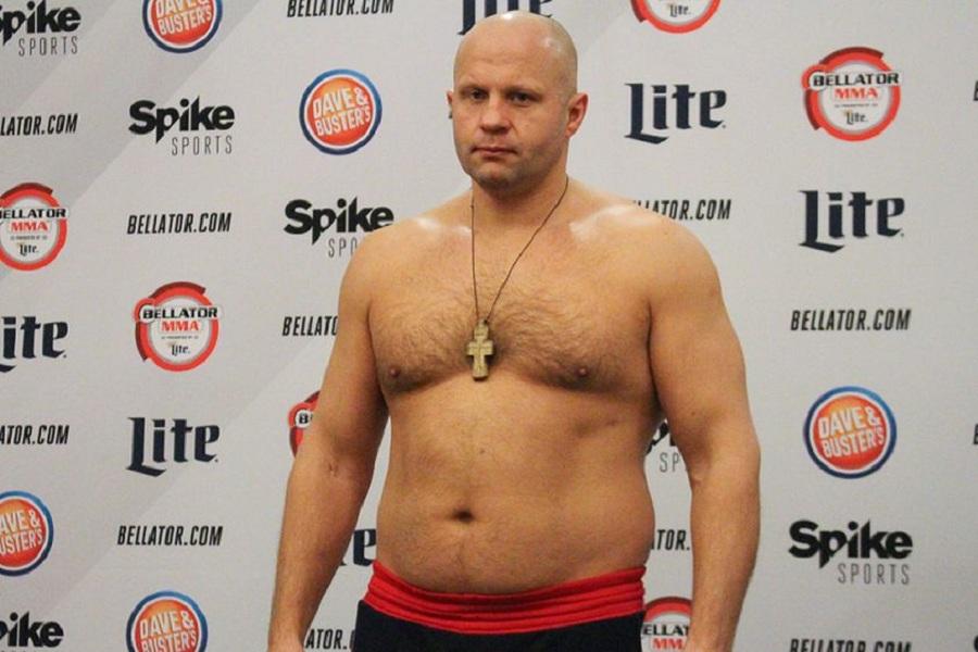 Оверим заявил, что Фёдор Емельяненко уже несколько раз отказывался с ним драться