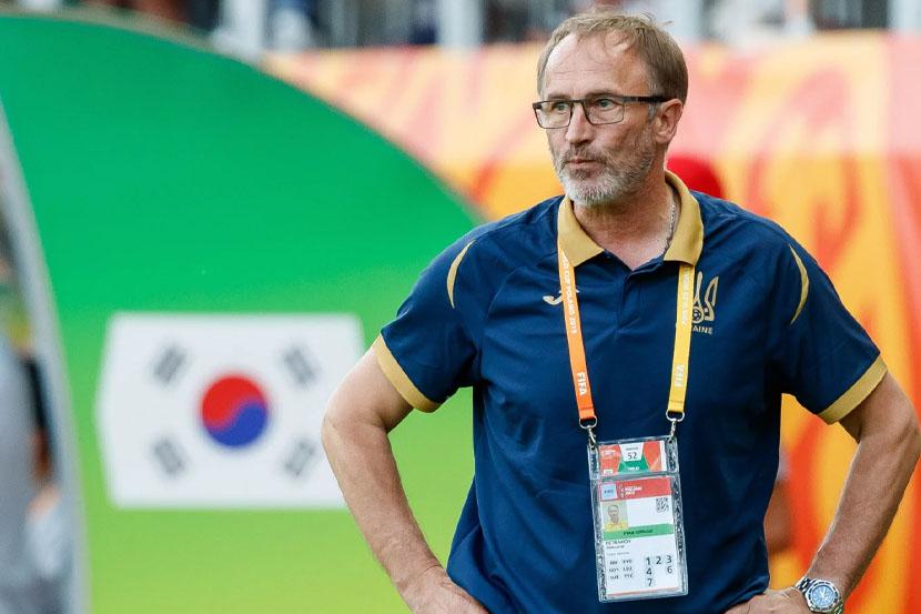Тренер сборной Украины заявил, что футболисты, которые выступают в России, не получат вызов в национальную команду