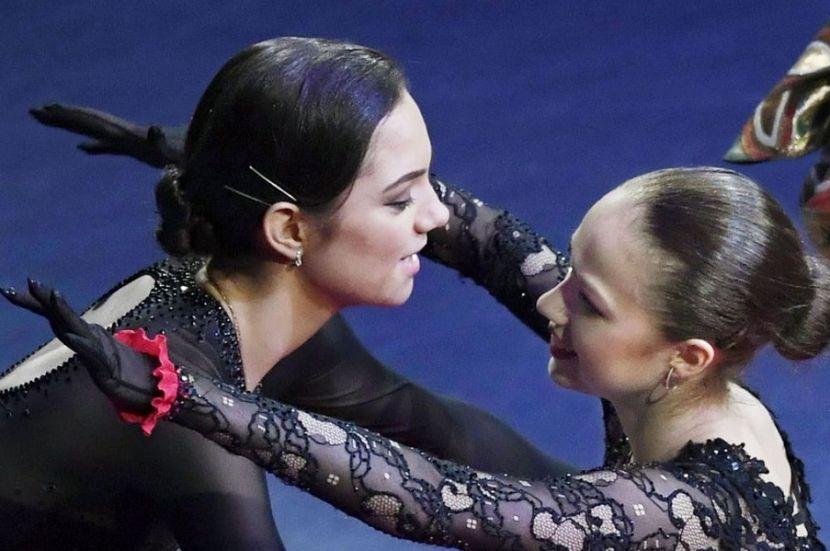 Медведева  о Загитовой: Ей всего 19 лет. Она не возрастная фигуристка