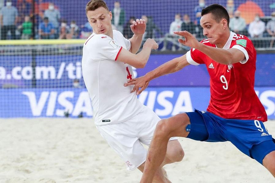 Сборная России уступила Белоруссии в Суперфинале Евролиги по пляжному футболу