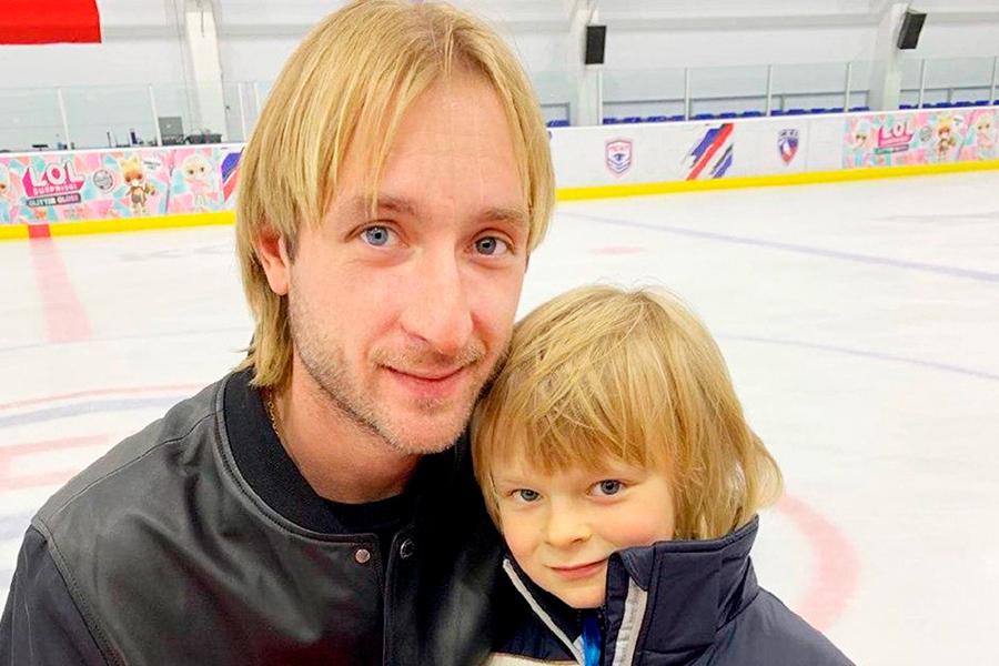 Плющенко  о сыне: У него никогда не бывает не хочу