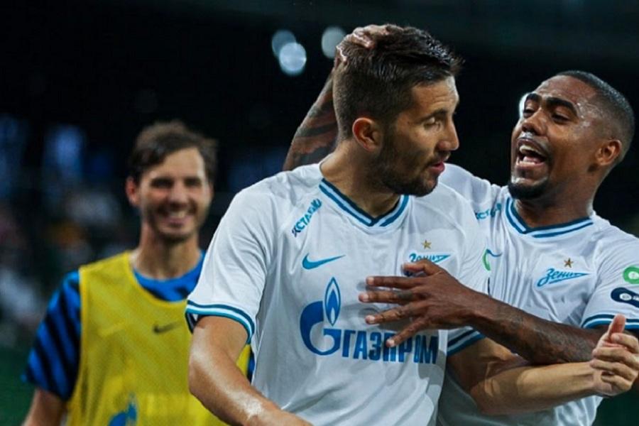 Победа в матче с Мальмё в Лиге чемпионов стала исторической для Зенита