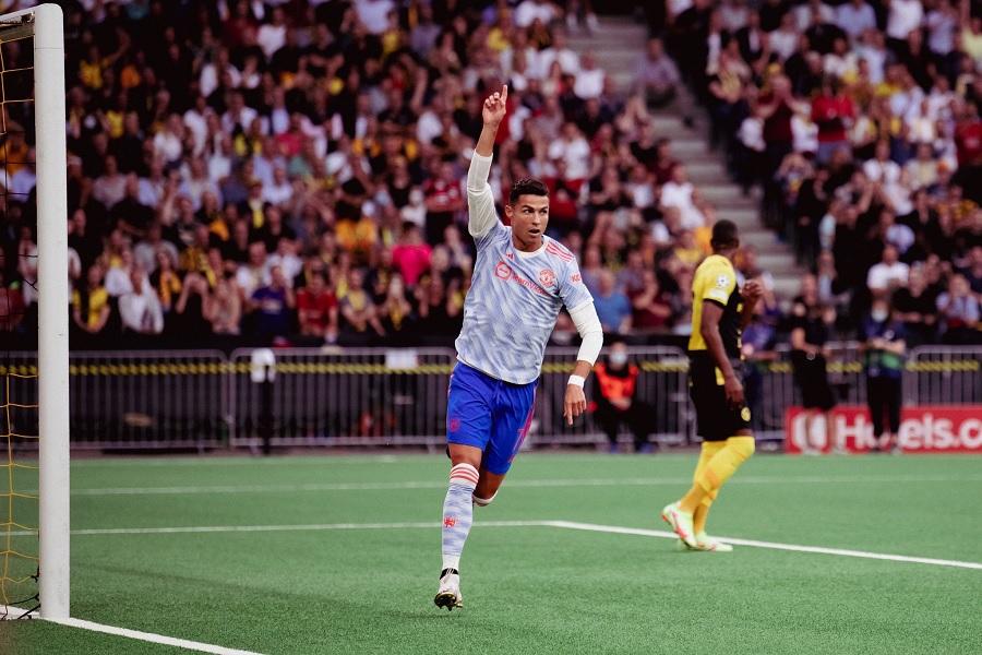 Криштиану Роналду установил новый рекорд в Лиге чемпионов